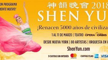 Shen Yun en Buenos Aires 2018: Teatro Opera