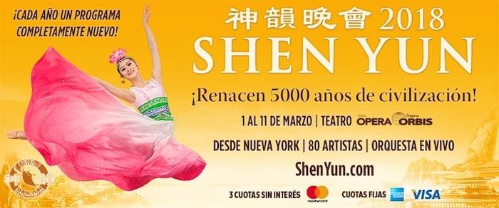 Shen Yun en Buenos Aires 2018: Precios y entradas en venta