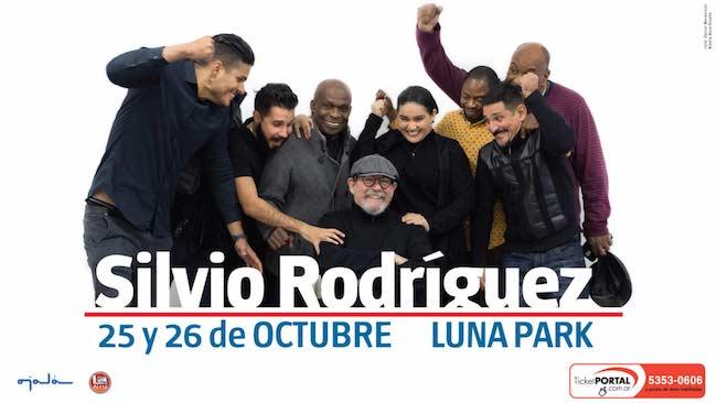 Silvio Rodriguez en Argentina 2018: Estadio Luna Park