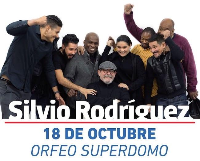 Silvio Rodriguez en Córdoba 2018: Precios y entradas en venta