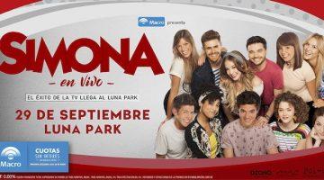 Simona en el Luna Park 2018