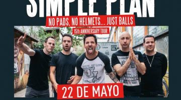 Simple Plan en Argentina 2018: Teatro Vorterix