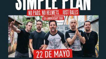 Simple Plan en Argentina 2018: Teatro Vorterix