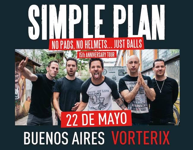 Simple Plan en Argentina 2018: Precios y entradas en venta