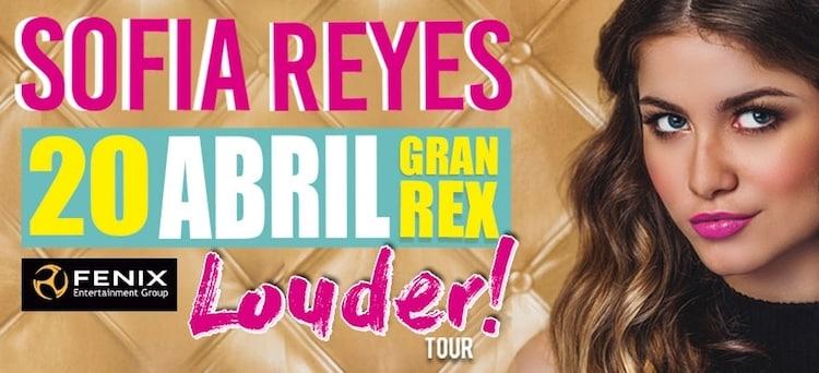 Sofia Reyes en Argentina 2017: Precios y entradas en venta