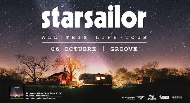 Starsailor en Argentina 2018 (Groove): Precios, horarios y entradas