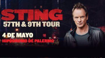 Sting en Argentina 2017: Hipódromo de Palermo