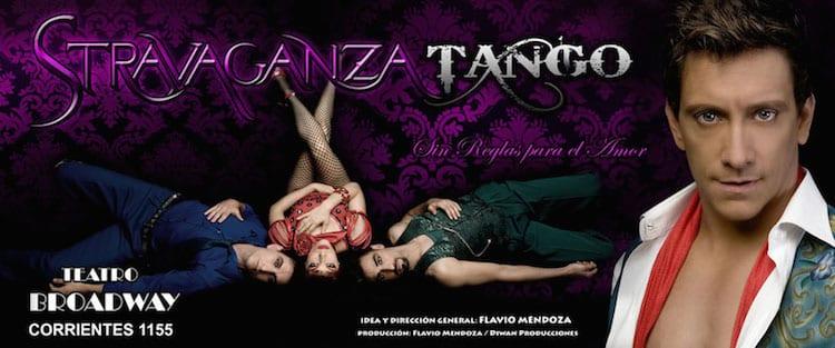 Stravaganza Tango en el Teatro Broadway 2014: Precios y entradas en venta