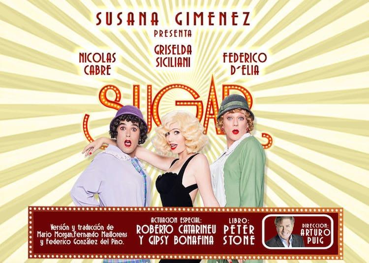 Sugar en el Teatro Lola Membrives 2017: Precios y entradas en venta