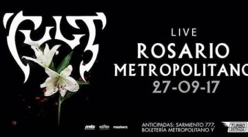 The Cult en Rosario 2017: Metropolitano
