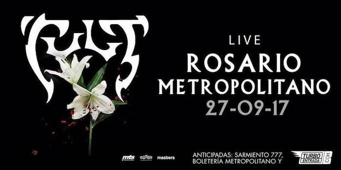 The Cult en Rosario 2017: Precios y entradas en venta