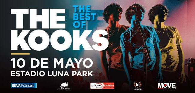 The Kooks en Argentina 2018: Precios y entradas en venta