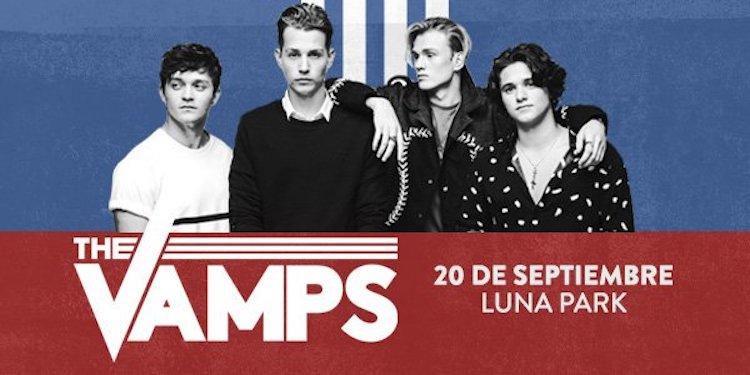 The Vamps en Argentina 2017: Precios y entradas en venta