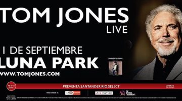 Tom Jones en Argentina 2016: Luna Park