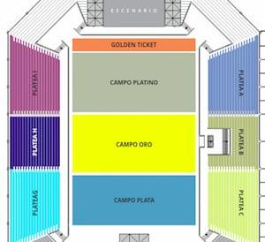 Topa en el Directv Arena 2016: Precios y entradas