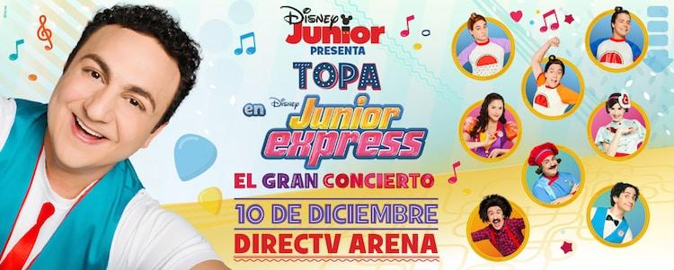 Topa en el Directv Arena 2016: Precios y entradas en venta