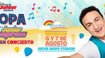 Topa en Mendoza 2016: Arena Maipú
