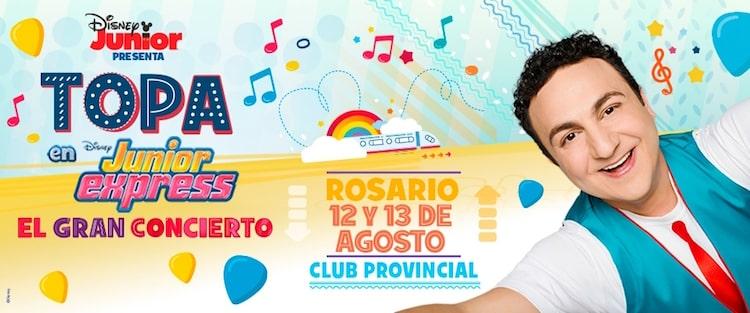 Topa en Rosario 2016: Precios y venta de entradas