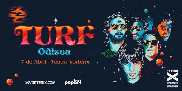 Turf en el Teatro Vorterix 2018: Precios y entradas en venta
