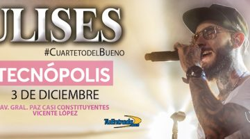 Ulises Bueno en Tecnópolis 2017