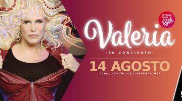 Valeria Lynch en Rosario 2018: City Center