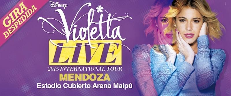 Violetta en Mendoza 2015: Precios y entradas en venta