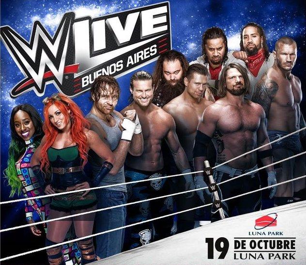 WWE en Argentina 2017: Precios y entradas en venta