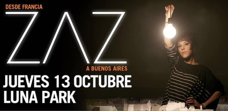 Zaz en Argentina 2016: Precios y entradas en venta