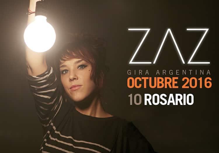 Zaz en Rosario 2016 (Metropolitano): Precios y entradas en venta